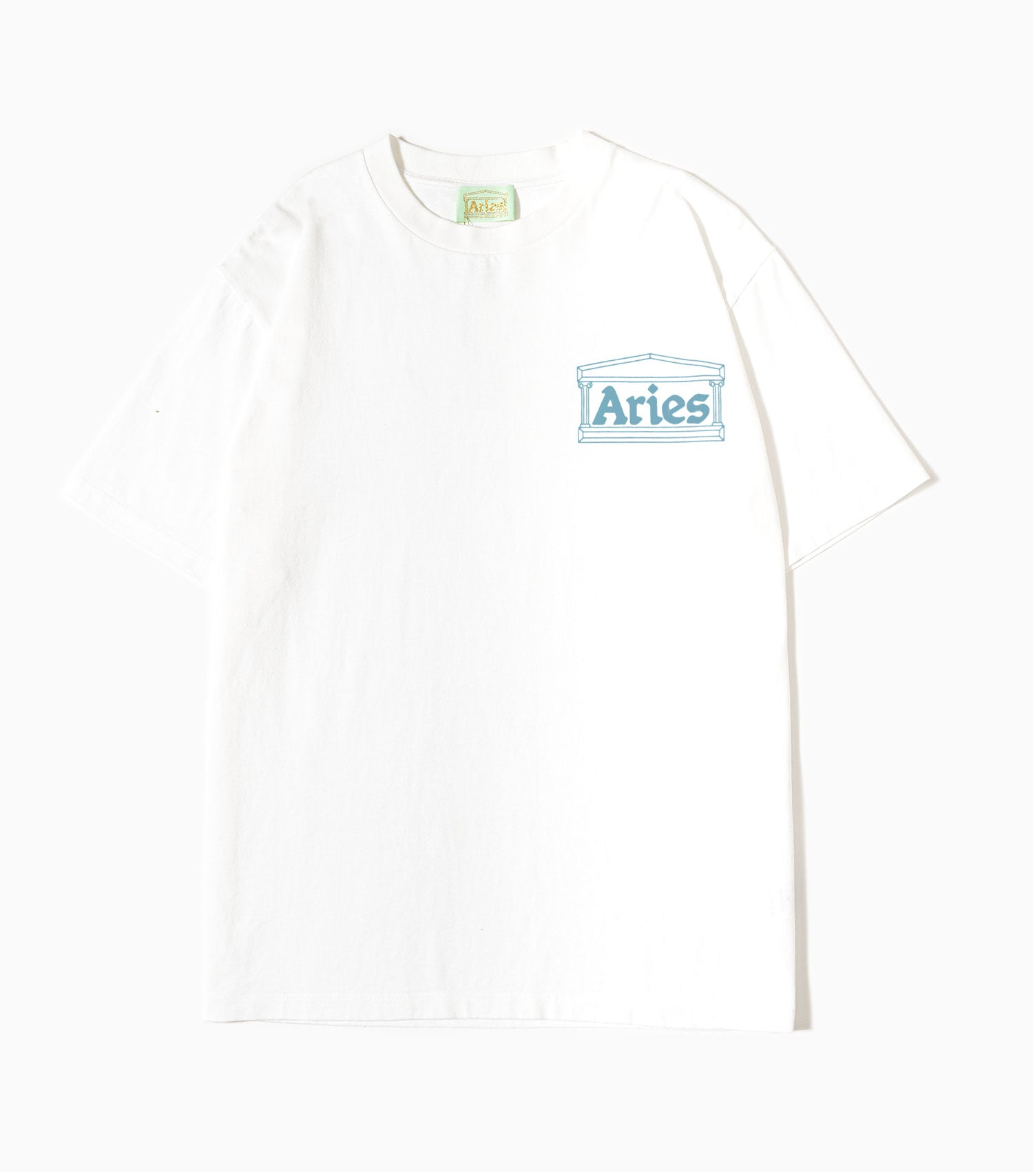 Aries Jimbo T-Shirt - White T-Shirt - CARTOCON
