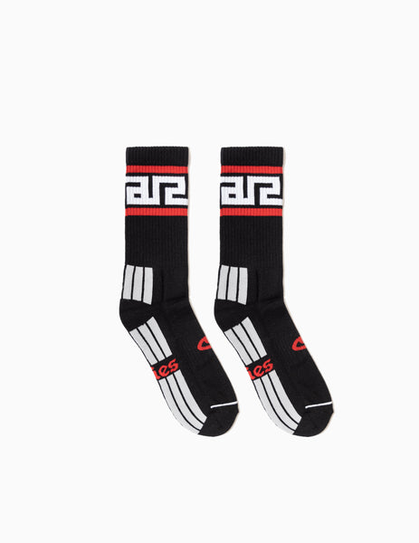 Aries Meandros Socks - Black
