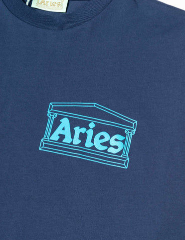 Aries Temple T-Shirt - Blue