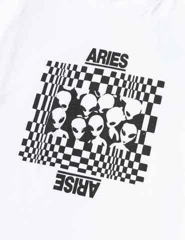 Aries Alien Family T-Shirt - White