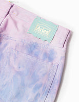 Aries MLP Dyed Lilly Jeans - Lilac Trousers - CARTOCON