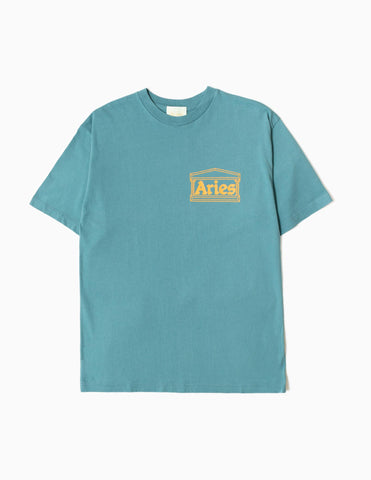 Aries Temple SS20 T-Shirt - Hydro T-Shirt - CARTOCON