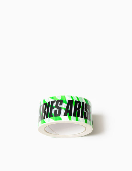 Aries Green Tiger Vinyl Tape - Green/White Tape - CARTOCON