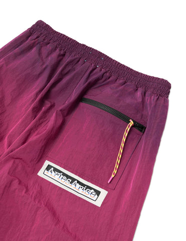 Aries Ombre Dyed Track Pants - Fuchsia Trousers - CARTOCON