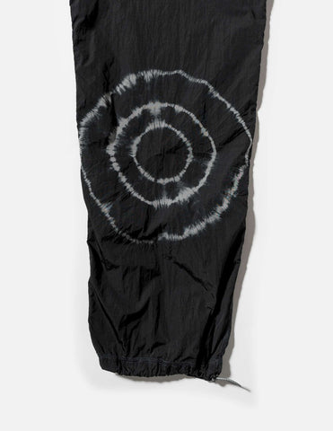 Aries Shibori Tie-Dye Windcheater Nylon Pant - Black