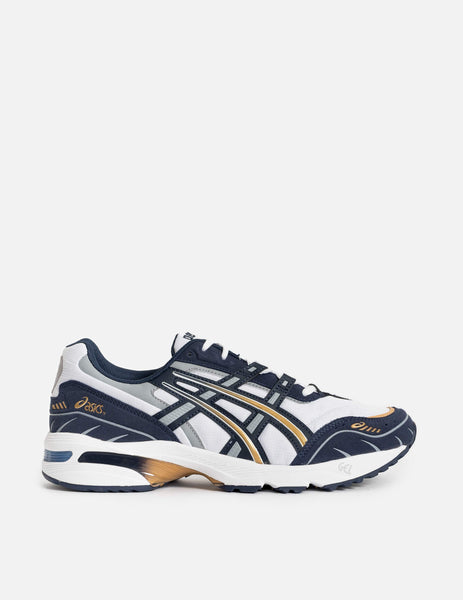 ASICS Gel-1090 Trainers - White / Midnight