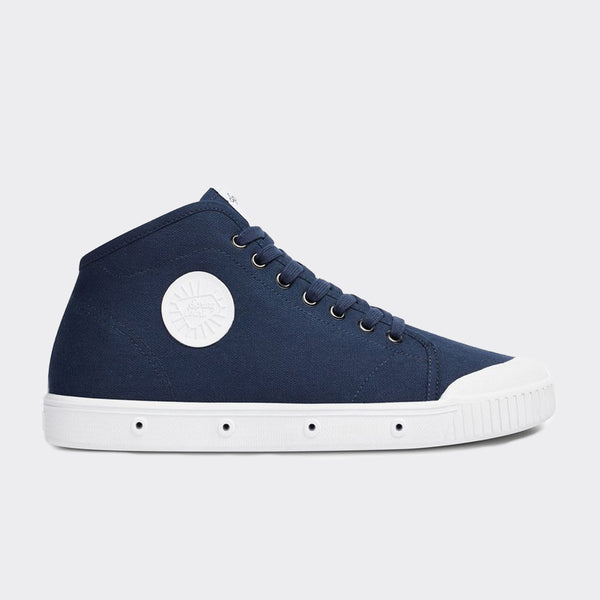 Spring Court B2 Classic Canvas Shoes - Midnight Blue  - CARTOCON