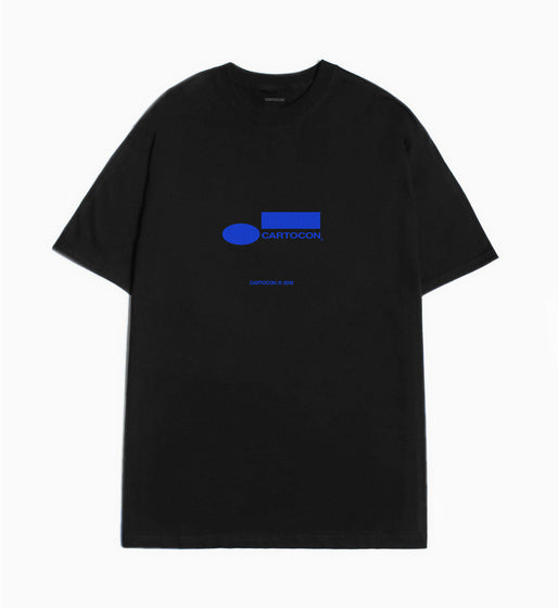 Cartocon Blue Note Records T-Shirt - Black T-Shirt - CARTOCON
