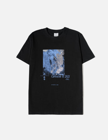 CARTOCON Thought & Knowledge T-Shirt - Black