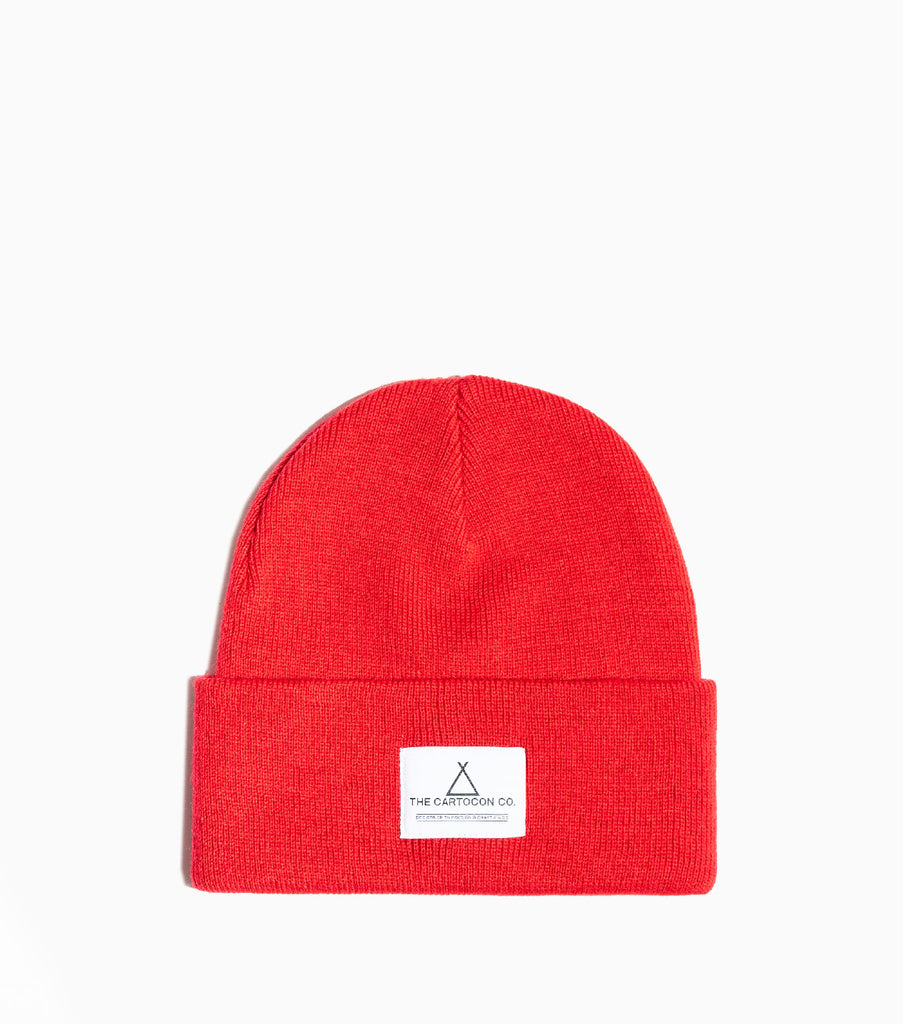 CARTOCON Watch Beanie – 1795 C Red Hat - CARTOCON