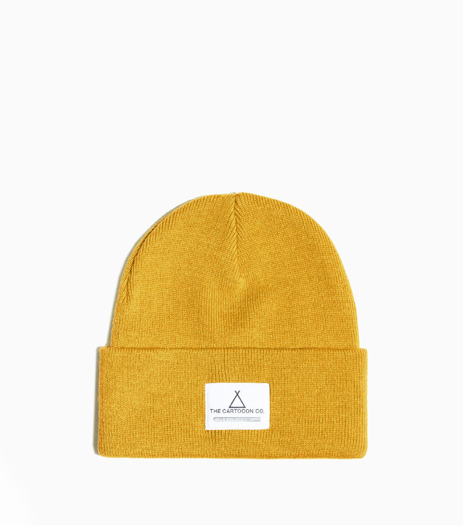 CARTOCON Watch Beanie – 107 C Yellow Hat - CARTOCON