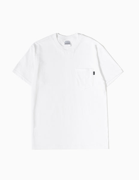 CARTOCON Pocket T-Shirt - White