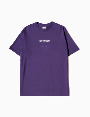 CARTOCON 2021 Logo T-Shirt - Purple
