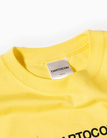 CARTOCON 2021 Logo T-Shirt - Yellow