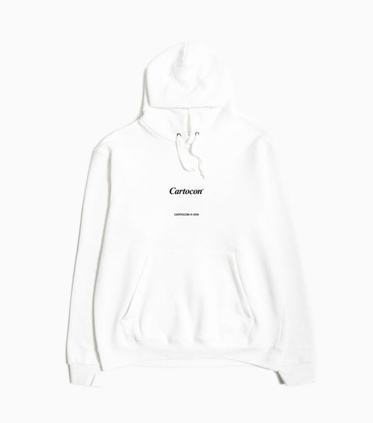 Cartocon.Times Hoody - White Hoody - CARTOCON