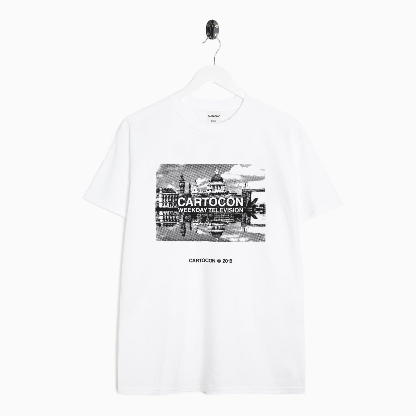 Cartocon Thames T-Shirt - White