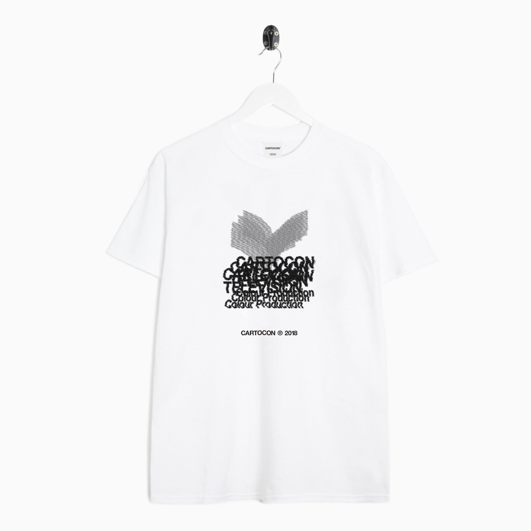 CARTOCON Yorkshire TV T-Shirt - White