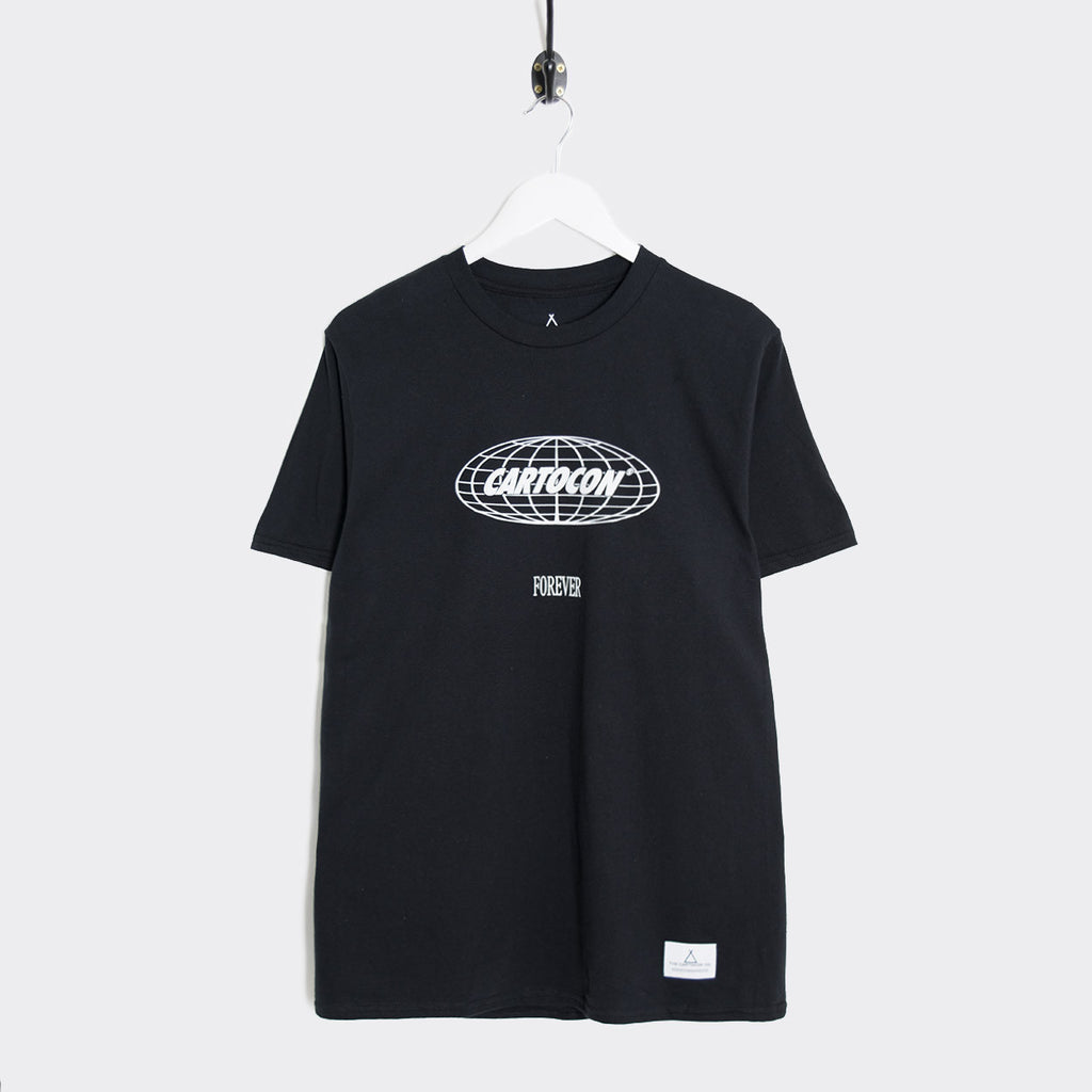 Cartocon Forever T-Shirt - Black