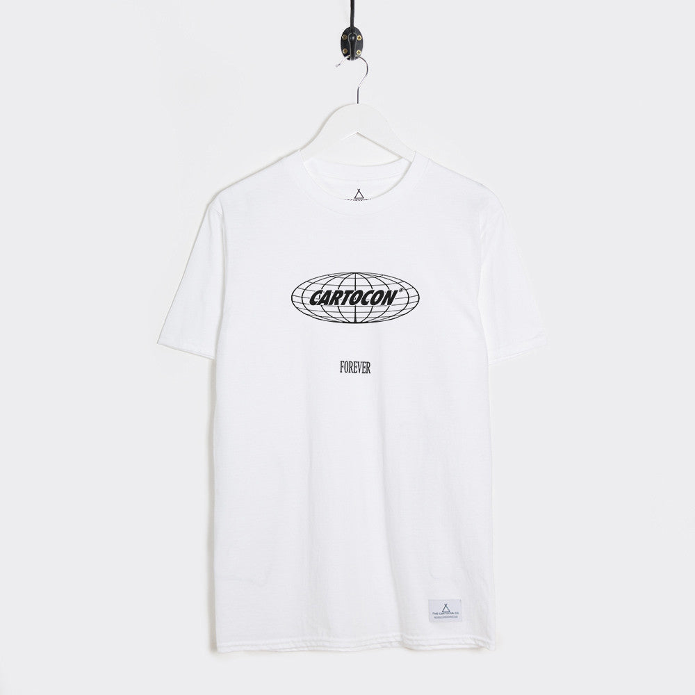 Cartocon Forever T-Shirt - White