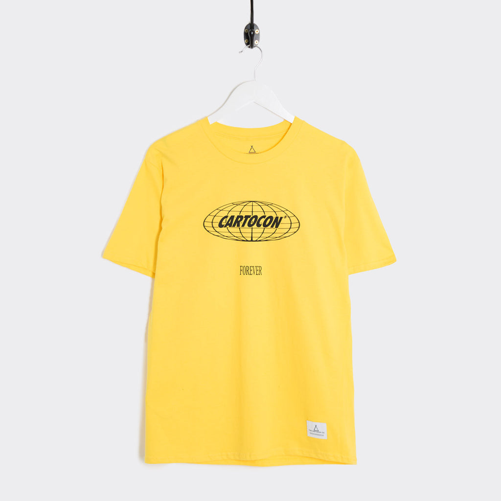 Cartocon Forever T-Shirt - Yellow