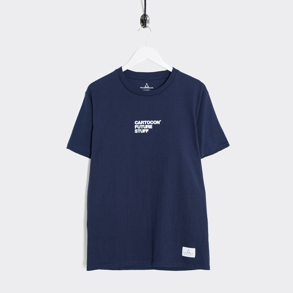 Cartocon Ruff T-Shirt - Navy