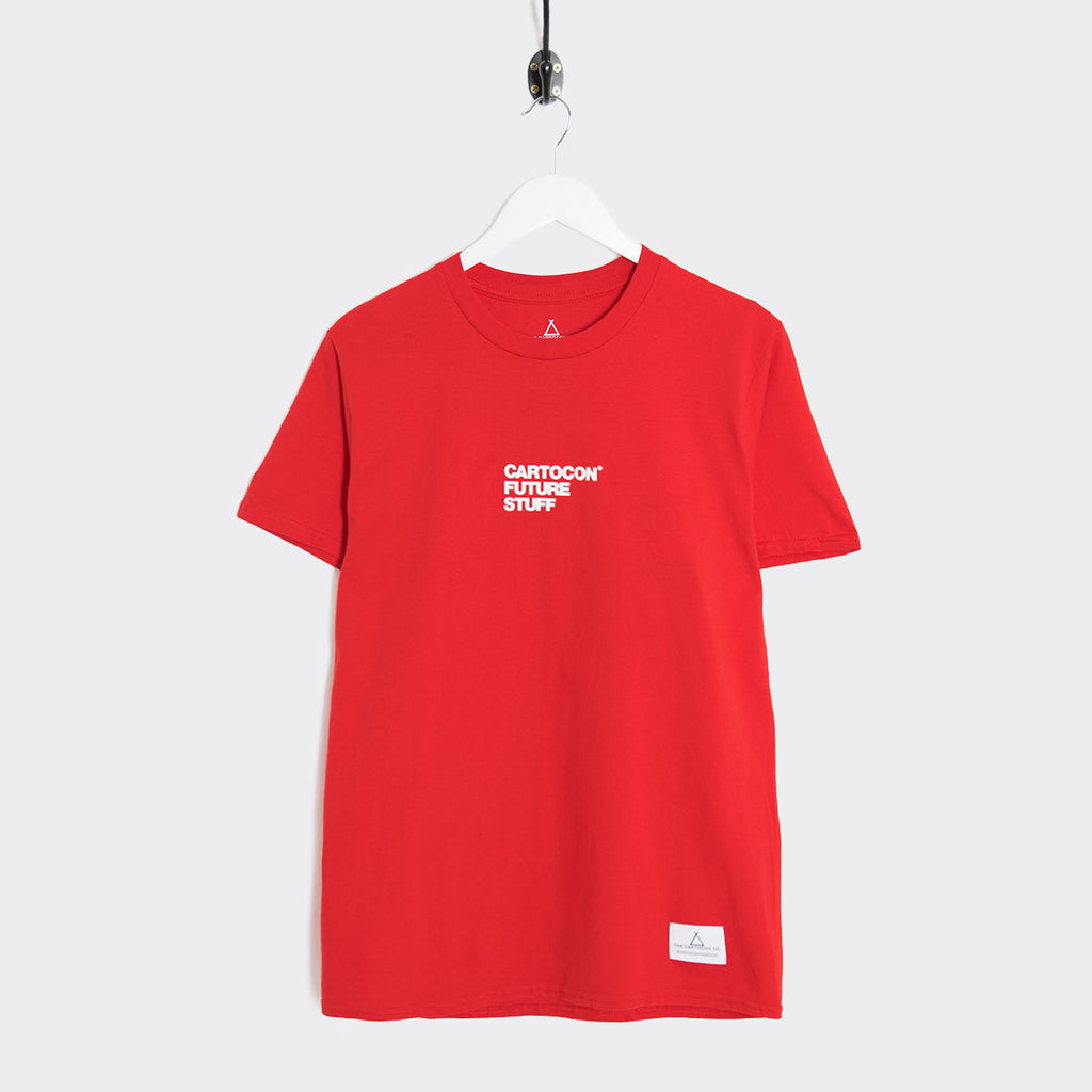 Cartocon Ruff T-Shirt - Red
