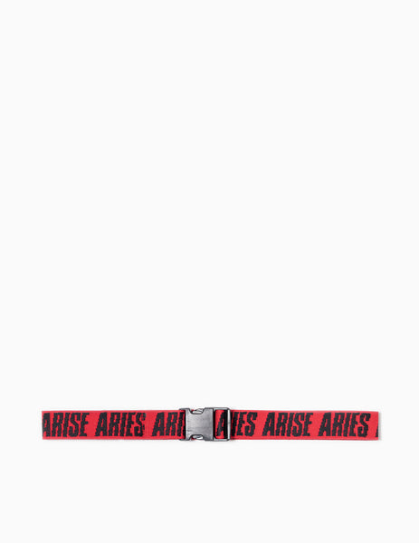 Aries Arise Webbing Belt - Red Belt - CARTOCON