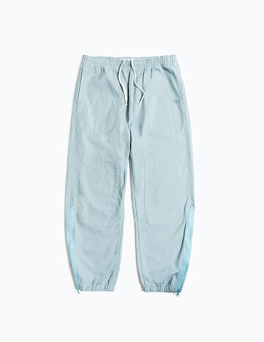Garbstore Home Party Japanese Canvas Track Pant - Sky Blue Trousers - CARTOCON