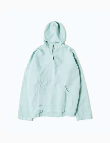 YMC Drug Rug Oversized Lightweight Hooded Jacket - Sky Jacket - CARTOCON