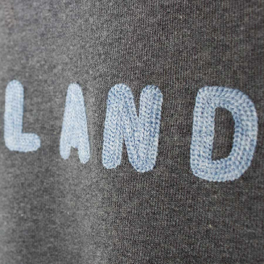 Soulland Capitals Sweatshirt - Grey Melange  - CARTOCON