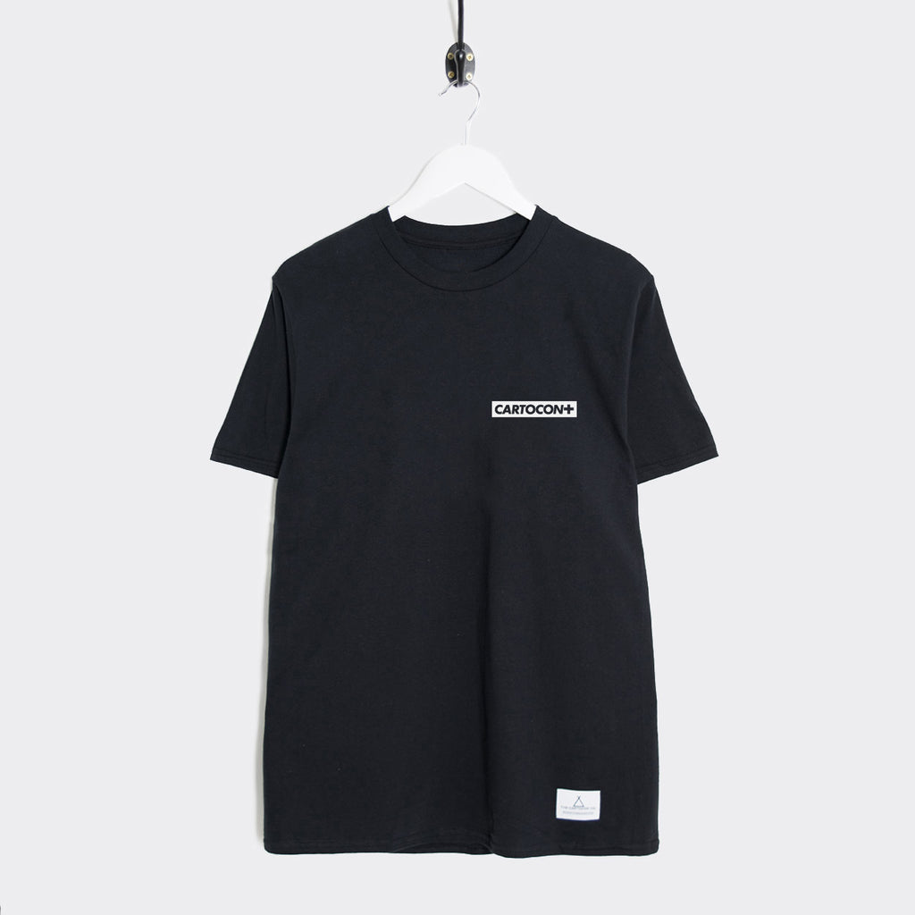 Cartocon Canal T-Shirt - Black