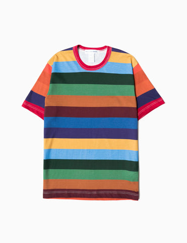 Comme des Garcons SHIRT Stripe T-Shirt - Multi T-Shirt - CARTOCON