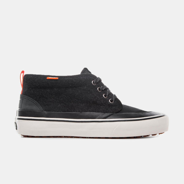 Finisterre x Vans Chukka HF - Black Wool Footwear - CARTOCON