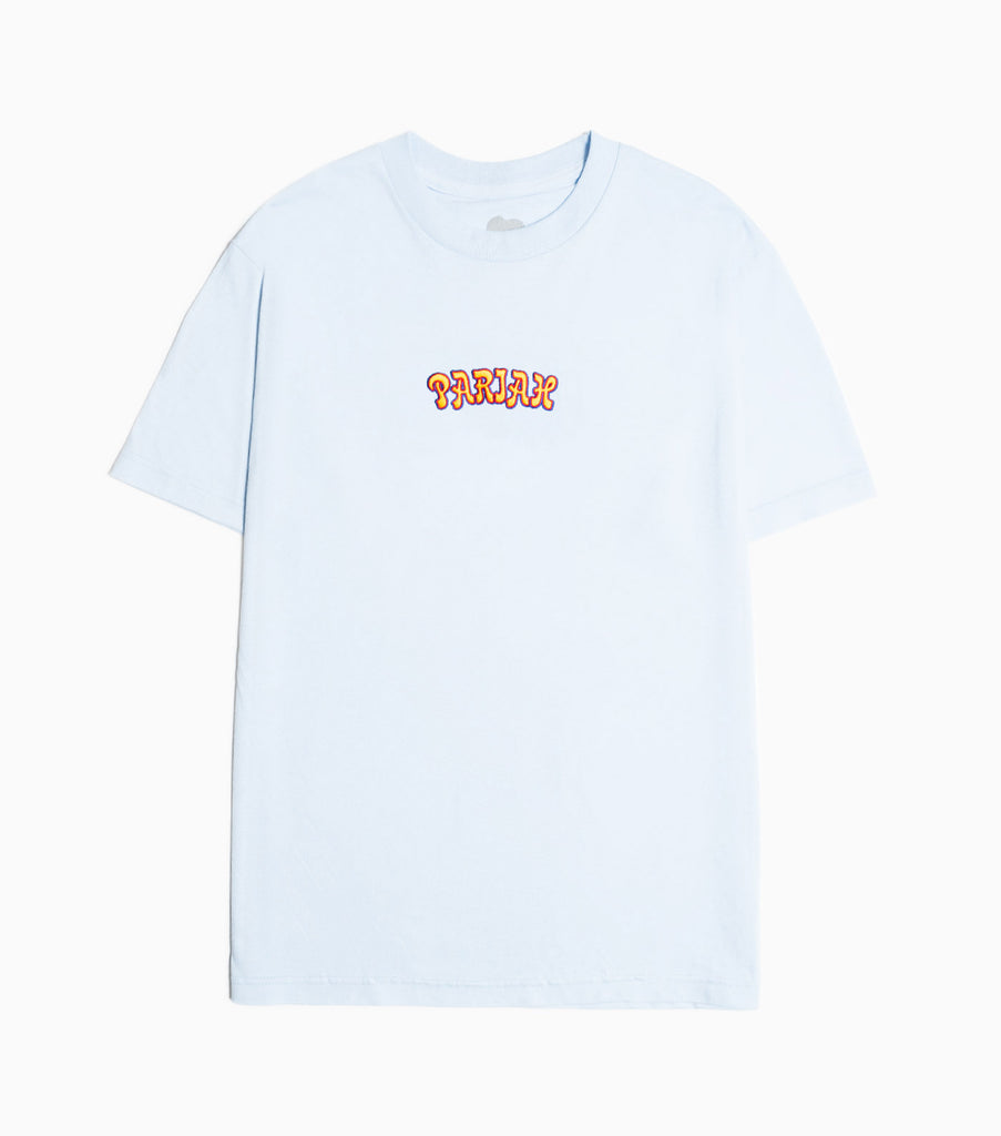 Come Sundown Pariah Embroidered T-Shirt - Powder Blue