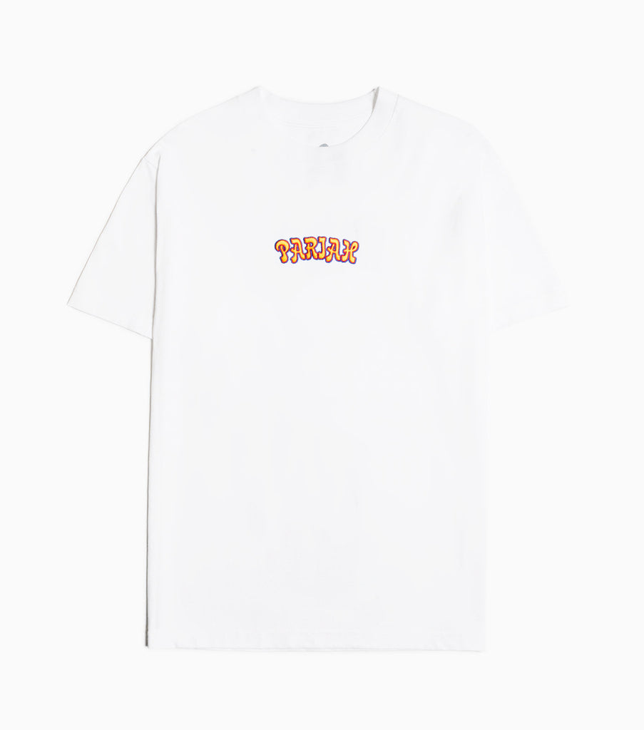 Come Sundown Pariah Embroidered T-Shirt - White