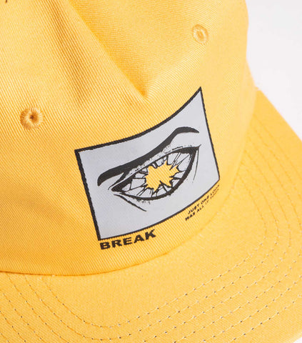 Come Sundown Break Cap - Yellow Hat - CARTOCON