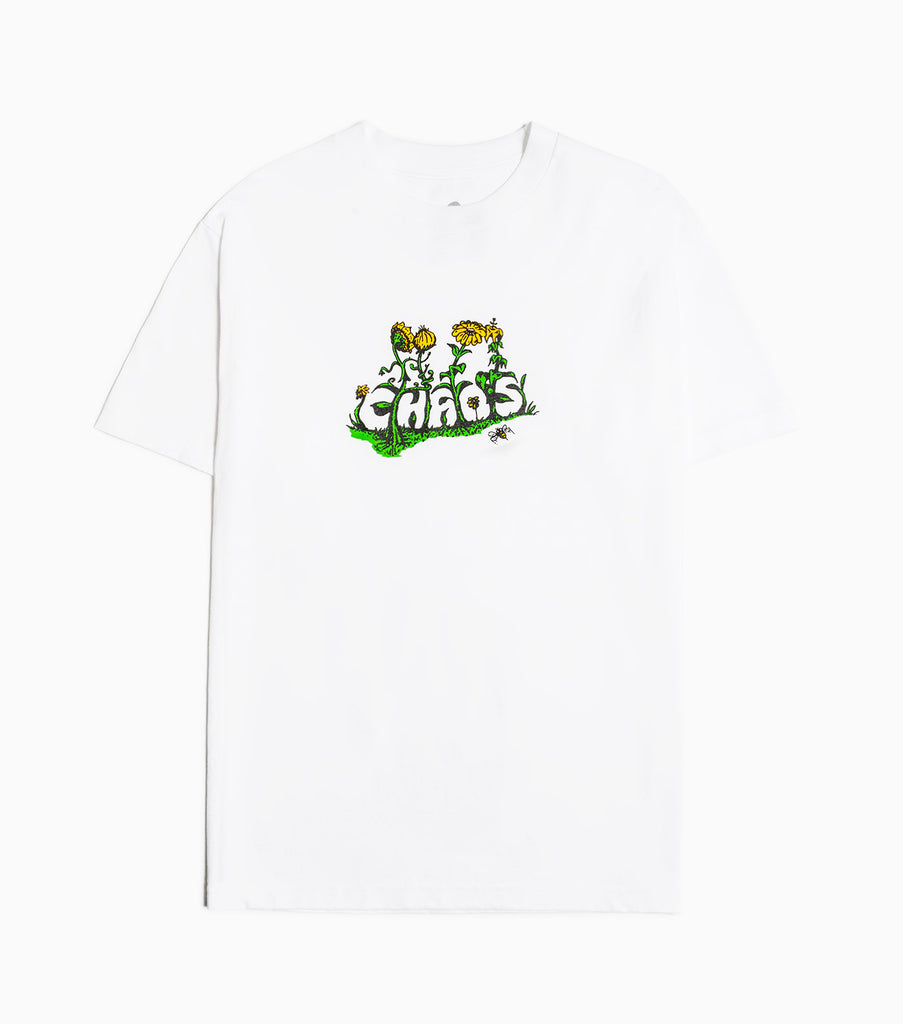 Come Sundown Chaos T-Shirt - White T-Shirt - CARTOCON