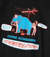 Come Sundown Communications T-Shirt - Black T-Shirt - CARTOCON