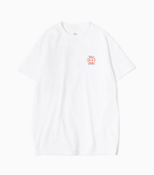 Come Sundown Release T-Shirt - White T-Shirt - CARTOCON