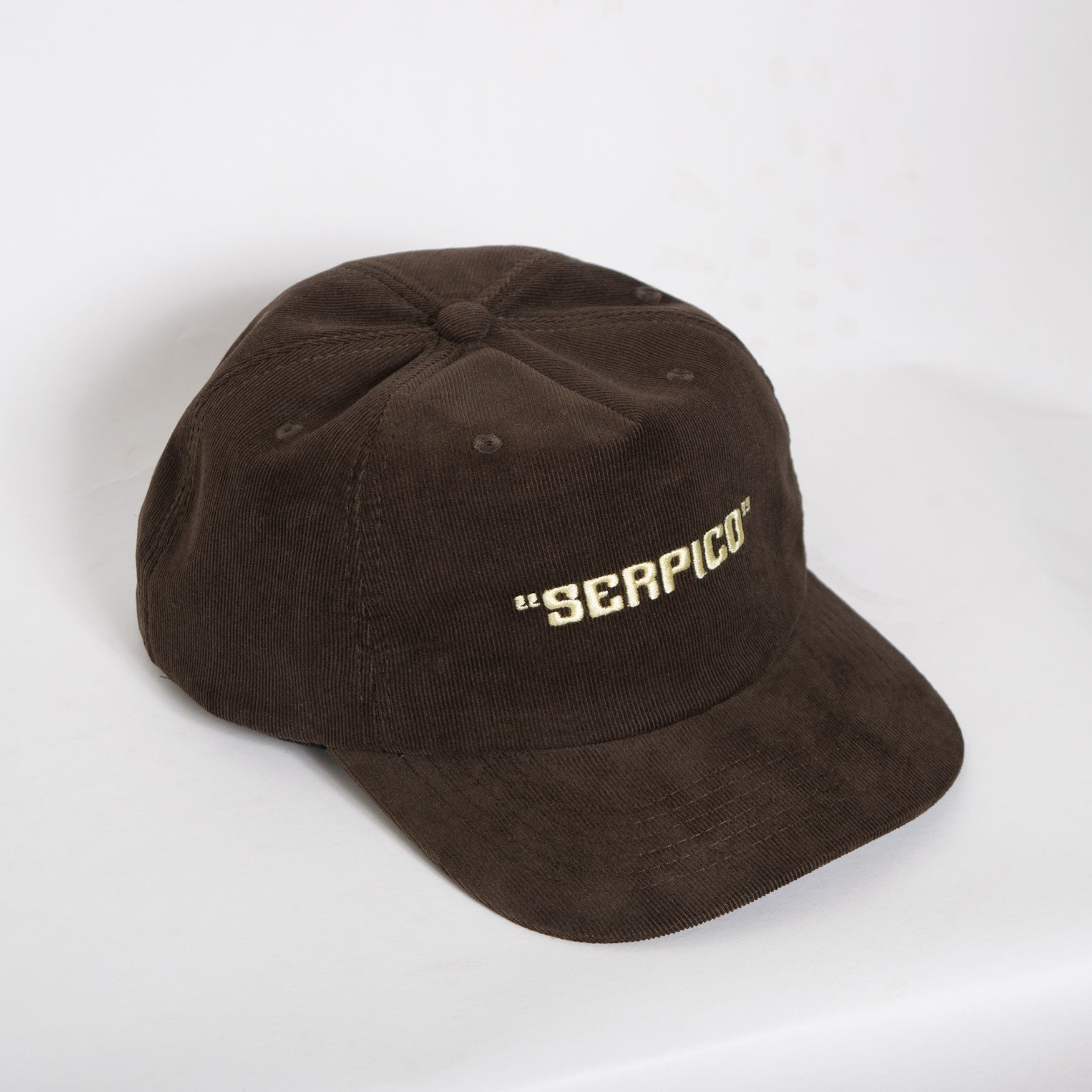 Come Sundown Serpico Corduroy Cap - Brown Hat - CARTOCON