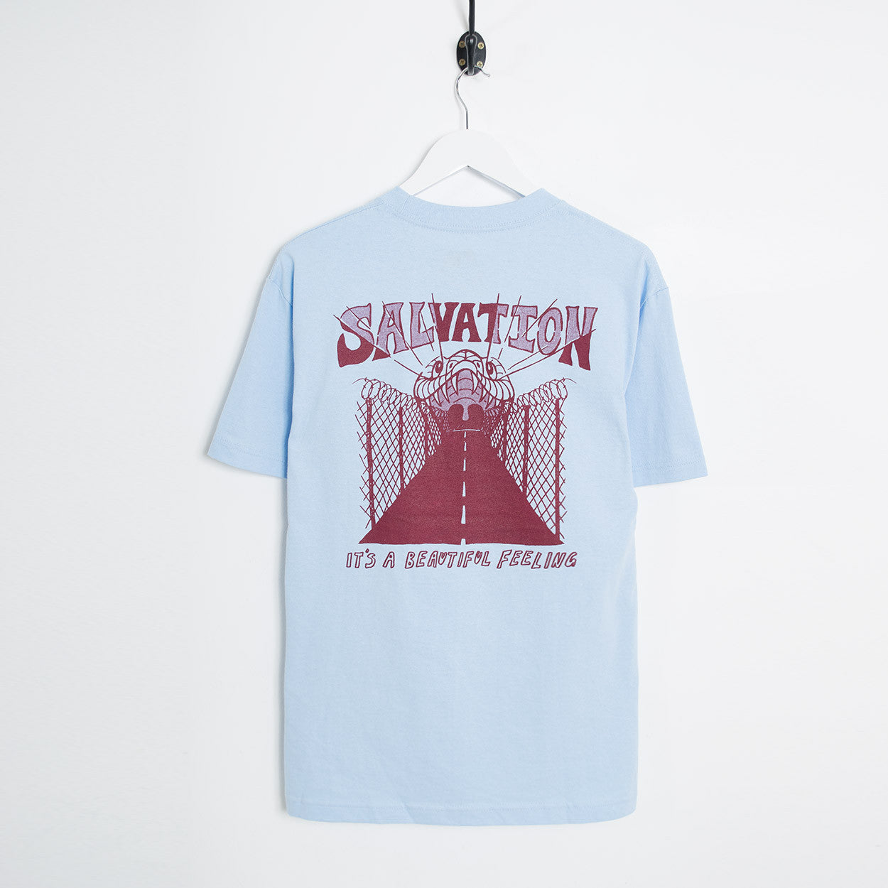 Come Sundown Salvation T-Shirt - Blue T-Shirt - CARTOCON