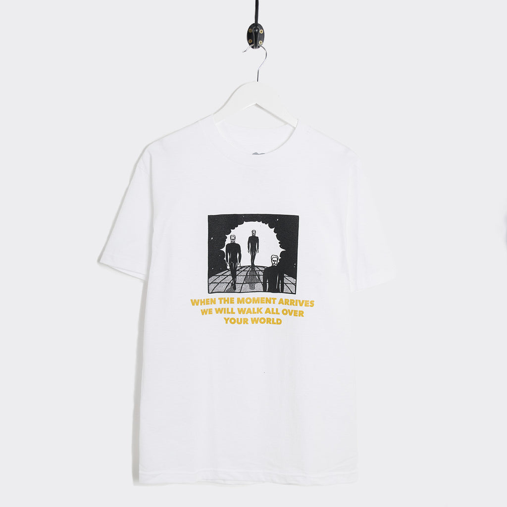 Come Sundown When The Moment Arrives T-Shirt - White