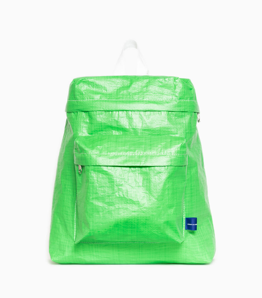 Comme des Garçons Shirt Polyethylene Backpack - Green Bag - CARTOCON