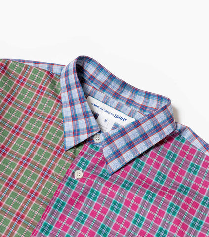 Comme des Garcons SHIRT Multi Check Shirt - Multi Shirt - CARTOCON