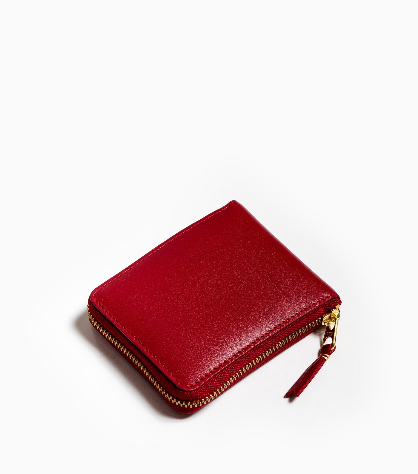 Comme des Garçons Wallet Classic Leather SA7100 - Red Wallet - CARTOCON