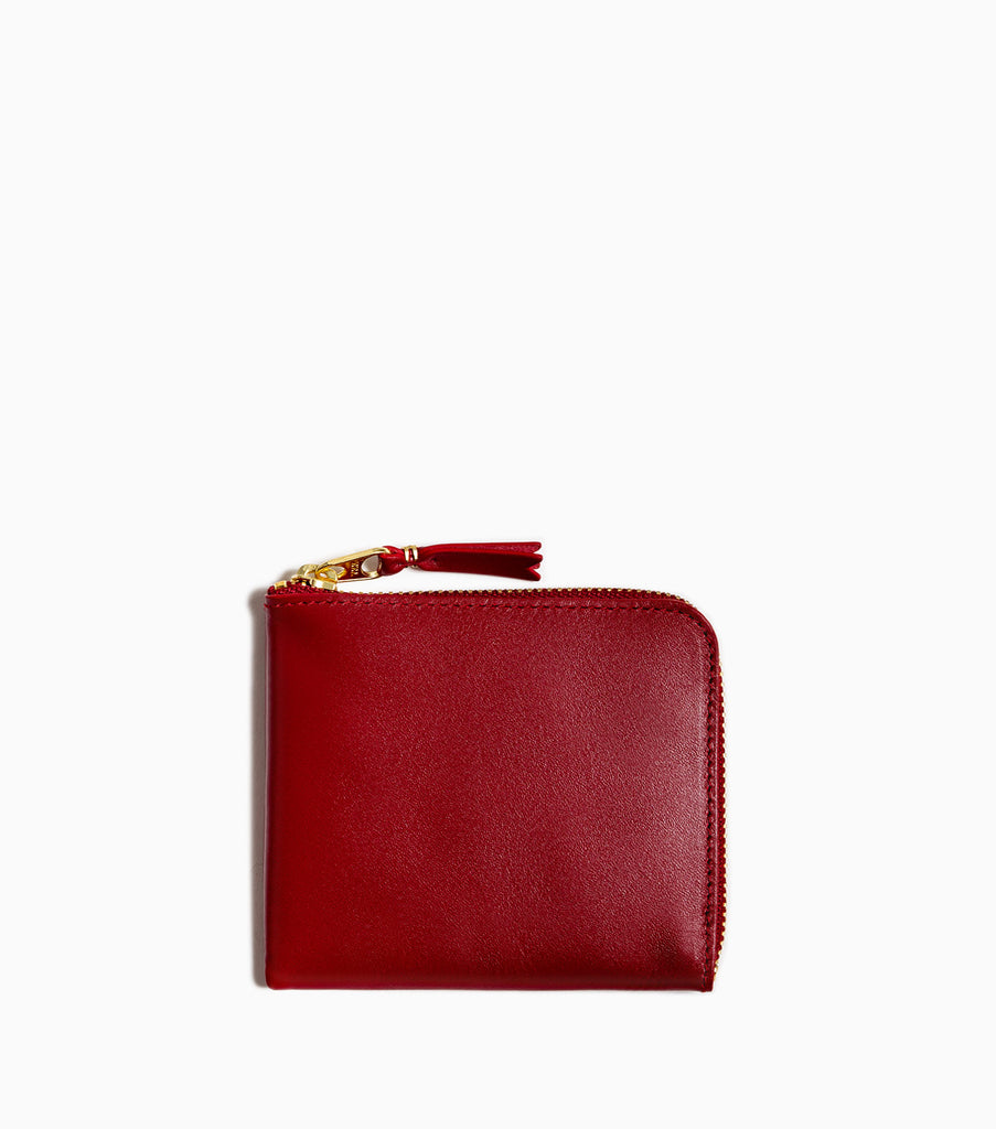 Comme des Garçons Classic Leather Wallet SA3100 - Red Wallet - CARTOCON