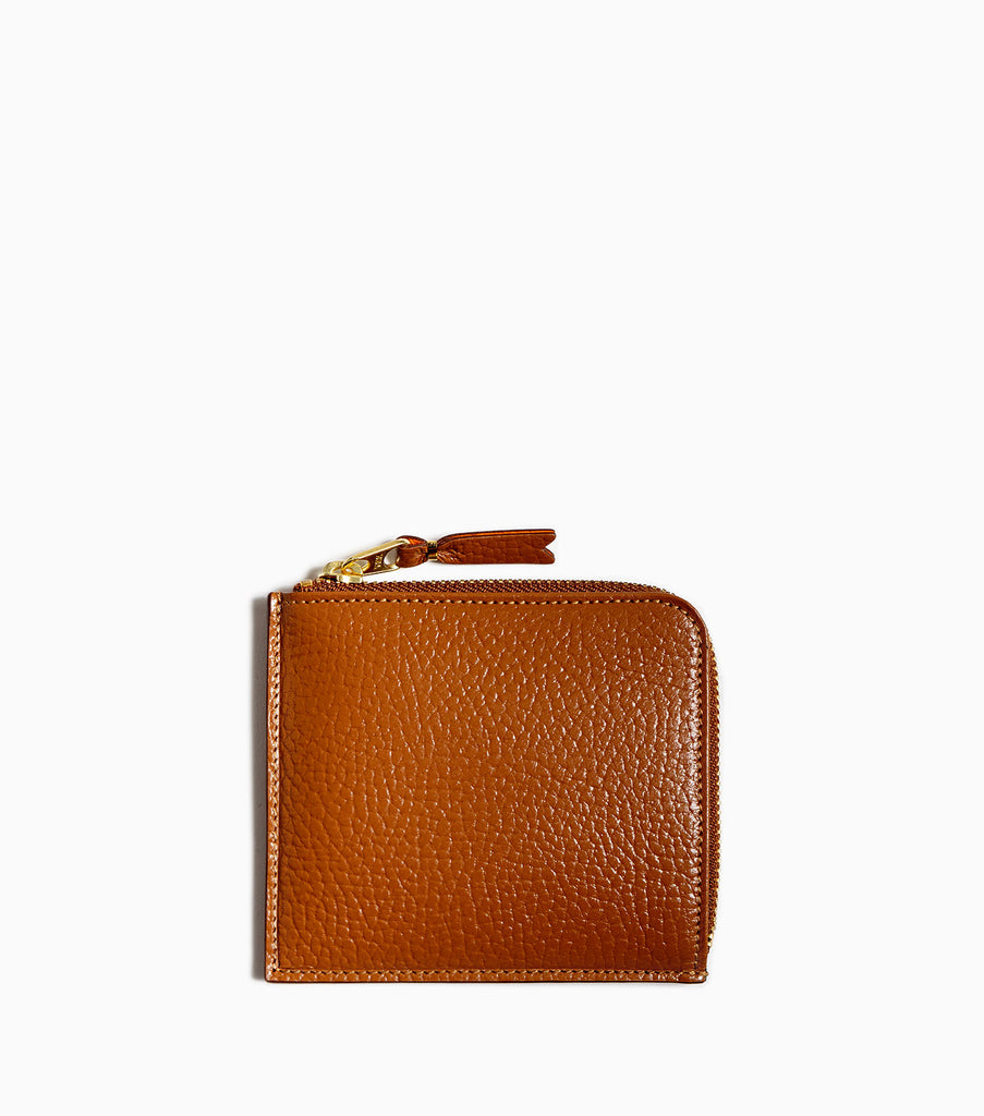 Comme des Garçons Wallet Colour Inside SA3100IC - Brown/Orange - CARTOCON