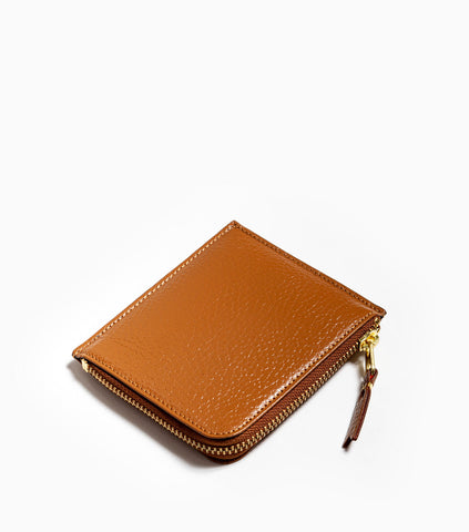 Comme des Garçons Wallet Colour Inside SA3100IC - Brown/Orange Wallet - CARTOCON