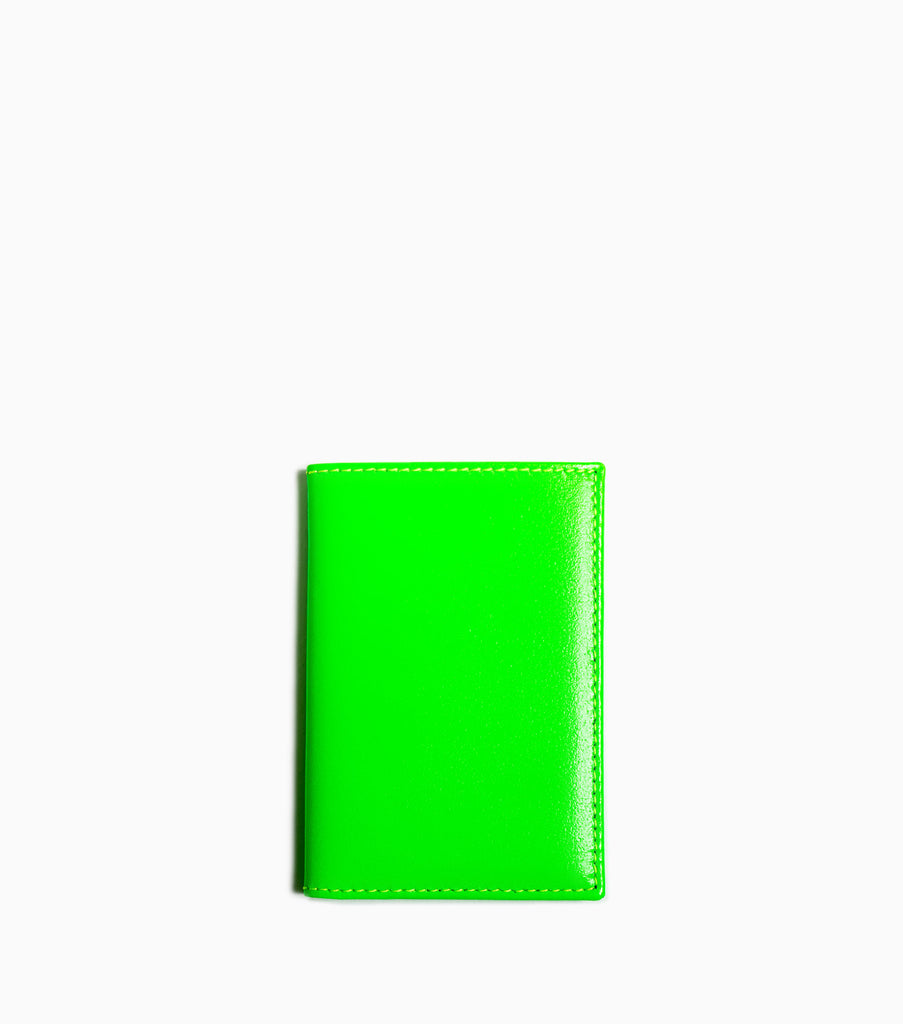 Comme des Garçons Wallet New Super Fluo SA6400SF - Green Wallet - CARTOCON