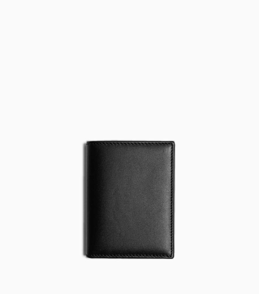 Comme des Garçons Classic Leather Line A Wallet SA0641 - Black Wallet - CARTOCON